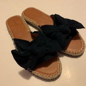SOLD Platform Sandals